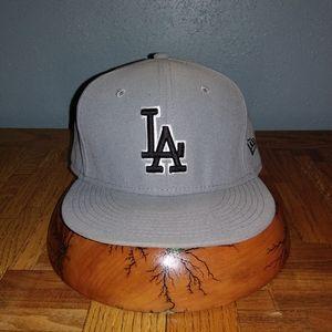 LA Dodgers Raiders Style New Era Hat